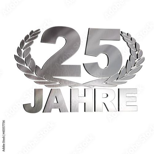 25 Jahre - Kranz Silber - 60357756