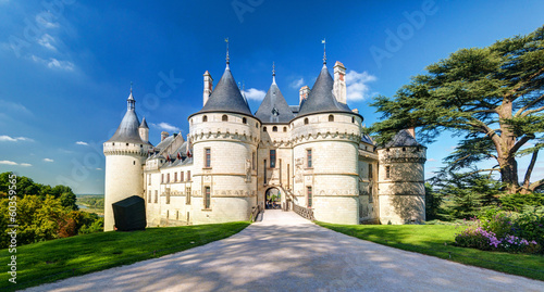 Foto op Canvas Kasteel Chateau de Chaumont-sur-Loire, France