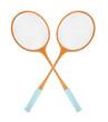 Vintage badminton rackets. - 60360991