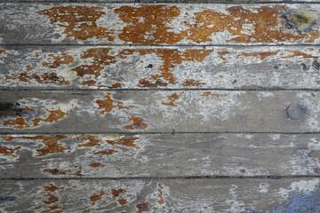 Alte Holzplanken - vintage - rotten wood planks