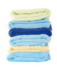 Pile of washed towel