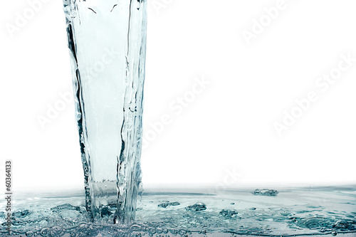 Healthy Fresh Water. Splash