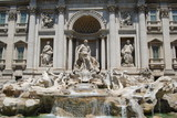 Roma , fountain Trevi 2