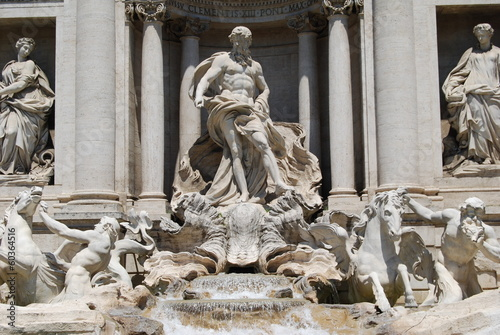 roma fountain trevi