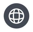 Globe - gray icons