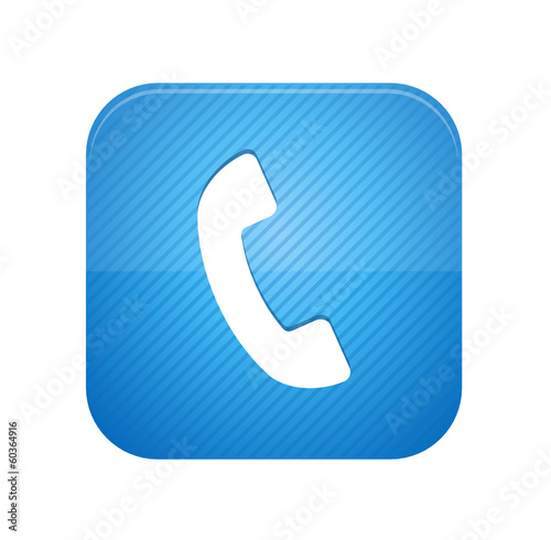 Call -  blue web button