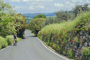 Mit dem Bike nach Volterra