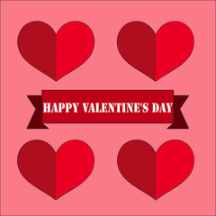 card happy valentine day
