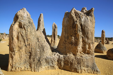 Pinnacles Desert. West Australien