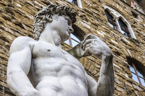 the David of Michelangelo