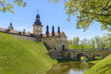 Medieval castle Nesvizh, Belarus.