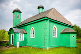 Wooden Tatar mosque in Kruszyniany / Poland