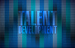 talent development message illustration