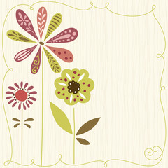 Cute Flowers Design