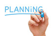 Planning Blue Marker
