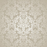Fototapety Seamless Pattern Background.Damask Wallpaper.