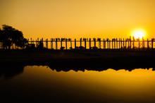 Pont de U Bein, Mandalay