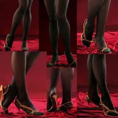 feminine legs.