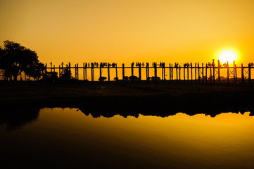 U Bein's Bridge, Mandalay