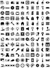 Symbole Hausautomatisierung