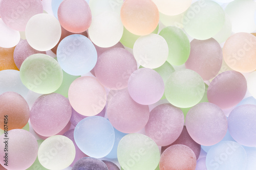 translucent colored stones