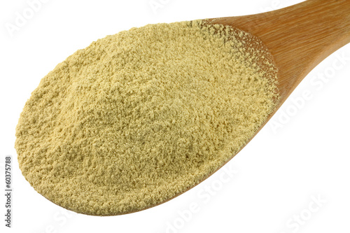 A spoon of find ground Thanaka Powder