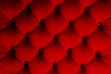赤色のクッションの背景素材