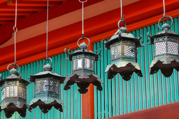 Bronze Lanterns at Kasuga Taisha in Nara