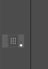 On-door speakerphone.