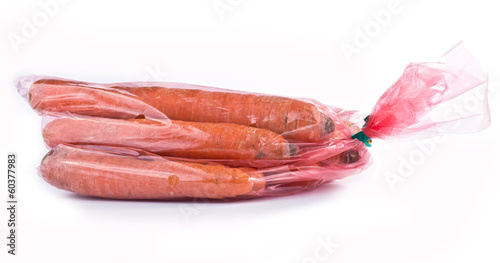 Packing of carrot
