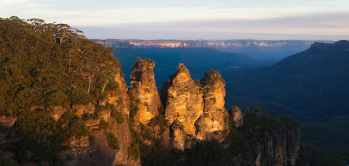 The iconic Three Sisters in the Blue Mountains