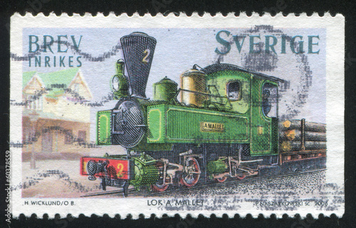 Mallet steam locomotive