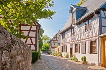Fachwerkidylle im Rheingau