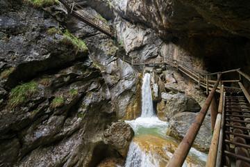 Bärenschützklamm, gorge in Styria (Austria)