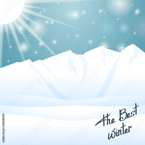 The best winter happy holiday