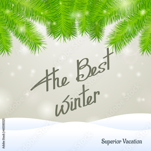 The best winter superior vacation