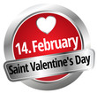 14. February Saint Valentin`s Day