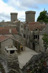 village des templiers;Plateau du Larzac; La Couvertoirade; 12