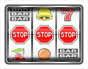 casino, 3 stops, concept interdiction