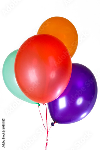 Happy Birthday party balloons decoration