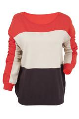 Multi-colored sweater