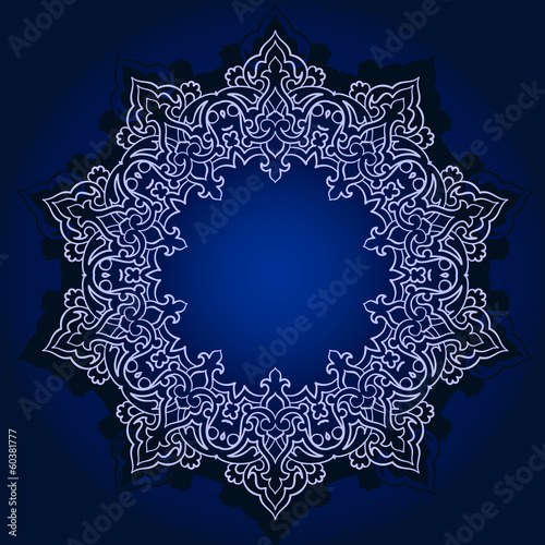 Traditional Persian-Islamic Pattern