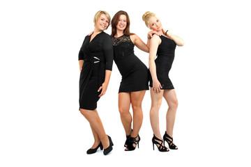 Damen in schwarz