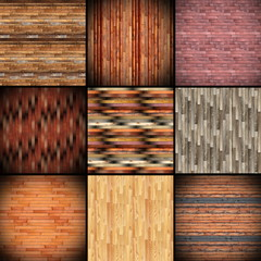 collage of textures resembling wood tiles
