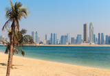 General view of Jumeirah Beach Park in Dubai