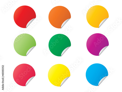 stickers colorfull