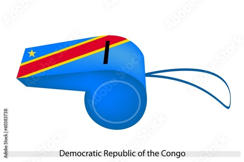 A Whistle of Democratic Republic of The Congo