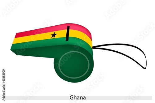 A Whistle of The Republic of Ghana