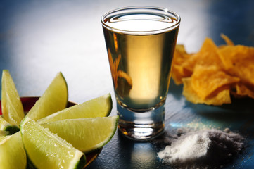 Tequila shoot