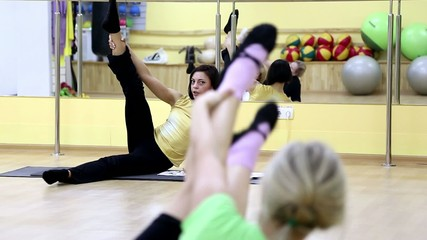 woman pilates instructor